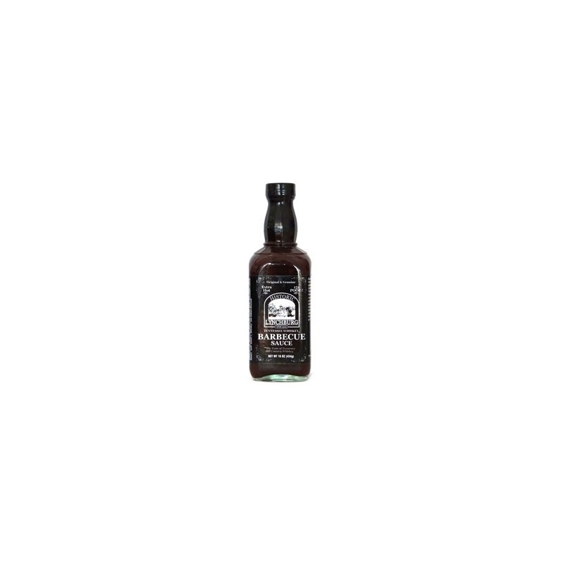 BBQ Saucen > Tennessee Whiskey Barbecue Sauce - Extra Hot