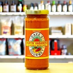 Dave's Gourmet Hurting Habanero & Honey Mustard